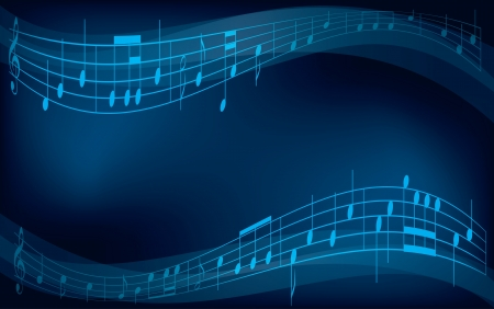 sheet music background: abstract background with musical notes