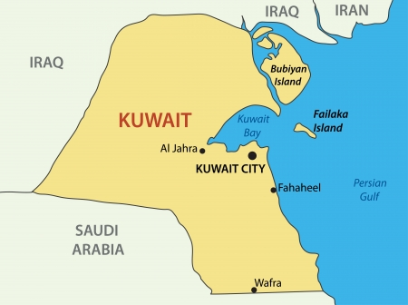 western town: State of Kuwait