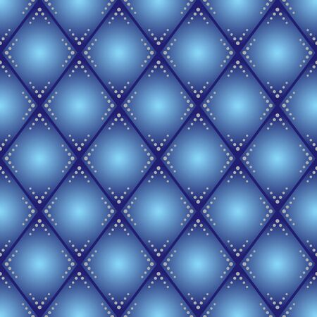 blue rhombus vector seamless pattern Stock Vector - 22019425
