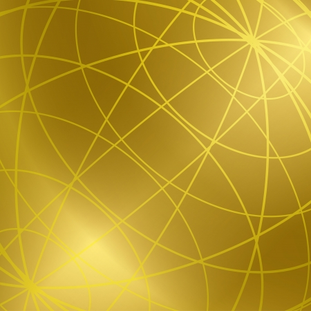 meridian: gold vector background with shiny meridian lines.