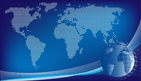 Global design background
