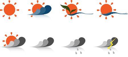 Weather icons photo
