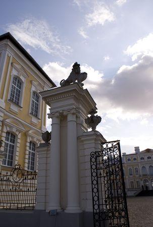 rundale: Antico palazzo di Rundale (Lettonia)