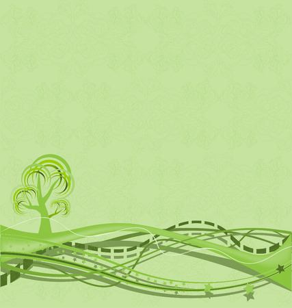 Environment background Ilustrace