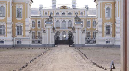 rundale: Palazzo Vecchio in Rundale (Lettonia)
