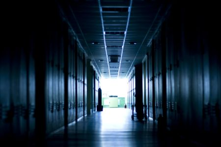 Corridor in tungsingen light