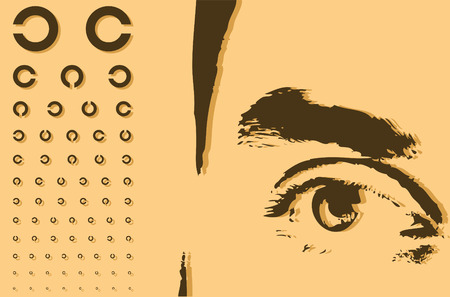 patient chart: Eye and ophthalmology chart