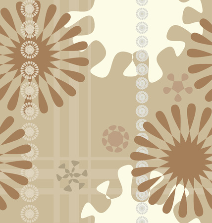 Seamless floral background Ilustrace