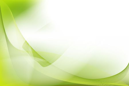Abstract nature background in green pattern Stock Photo