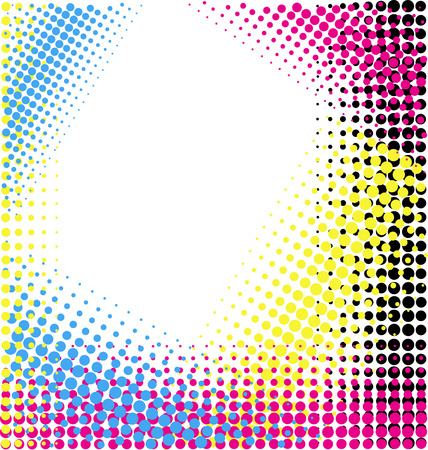 CMYK abstract background