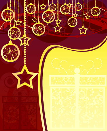 Merry Christmas and Happy New Year Stock Vector - 5491752
