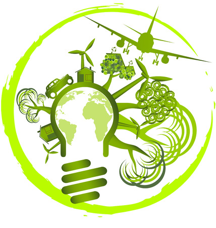 energy use: Environment design - use green energy for life