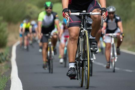 cycling competition Archivio Fotografico