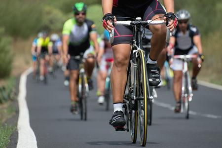 cycling competition Standard-Bild