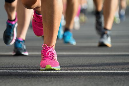 marathon running: Marathon runners