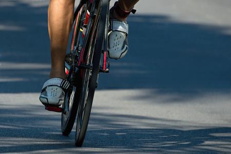 wielerwedstrijd Stockfoto