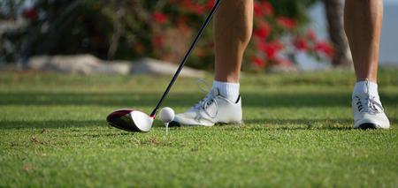 playing golf: Man playing golf,playing golf preparing to shot