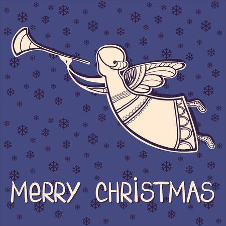 greeting christmas: Merry Christmas greeting card