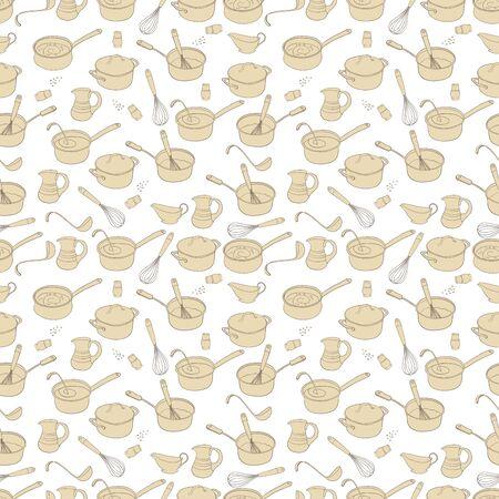 pepperbox: Kitchen house design seamless background texture pattern
