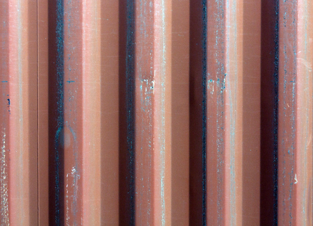 pitting: Container metal wall texture. Architectural background. Stock Photo
