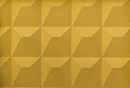 redecorate: Yellow wall texture. Architectural background Stock Photo