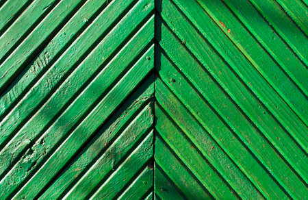 case colorate: Green wood wall texture. Architectural background.
