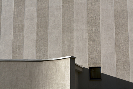 concrete commercial block: Wall of office building. Commercial buildings and background.