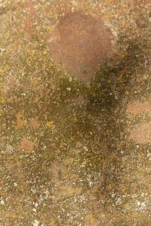 pitting: Metal wall texture. Architectural background.