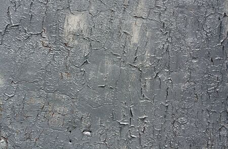 pitting: Weathered gray metal wall texture. Architectural background. Stock Photo
