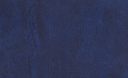 skin color: Blue leather surface. Background and texture for design. Stock Photo