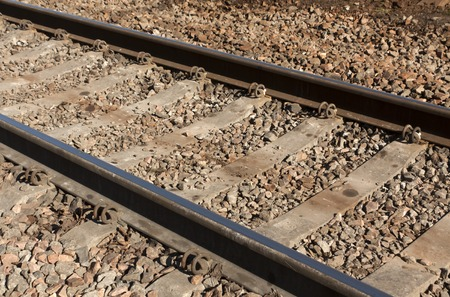 freight forwarding: Old railroad. Transport and freight forwarding background