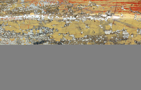 pitting: Weathered painted metal surface. Background and texture. Stock Photo