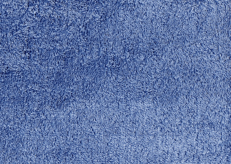 Abstract blue textile towel texture. Background and texture.