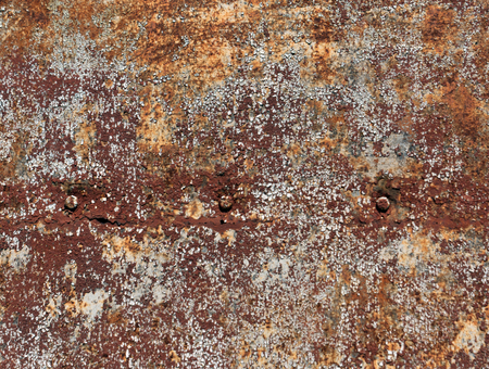 pitting: Rusty color metal plate surface. Background and texture for design. Stock Photo