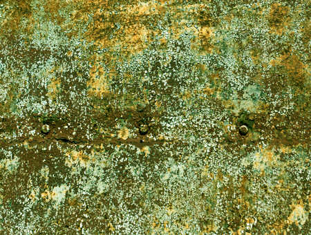 Rusty color metal plate surface. Background and texture for design. Stock Photo