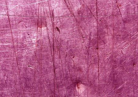 red metal: pink scratched metal surface. Abstract background and texture for design Stock Photo