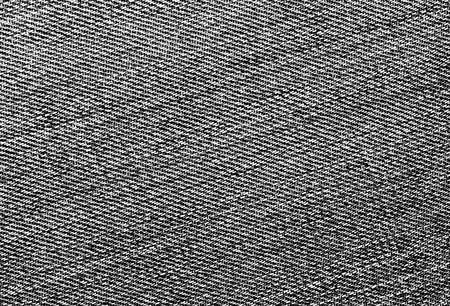 Close-up of black and white jeans cloth. abstract background and textures for desgn.
