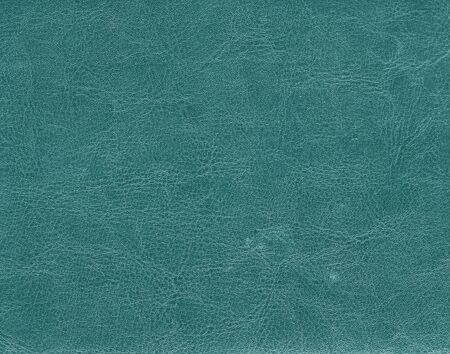 Dark Cyan Color Leather Texture Background And Texture