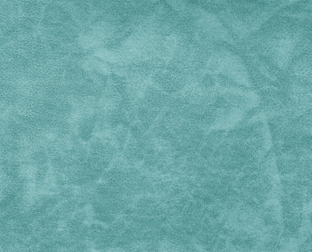 Cyan color leather pattern. Abstract background and texture for design.