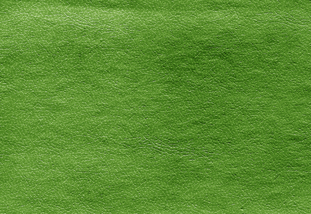 Green color leather surface pattern. Abstract background and texture for design.