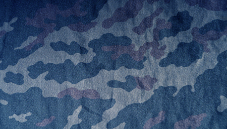 soldiers: Old camouflage cloth pattern. abstract background and texture for design. Stock Photo