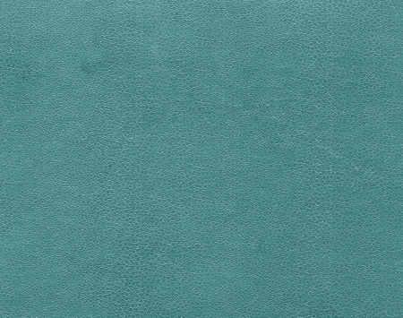 Cyan color artificial leather pattern. Abstract background and texture for design. Stock Photo