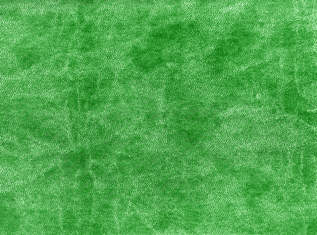 Green color artificial leather texture. abstract background and texture. Stock Photo