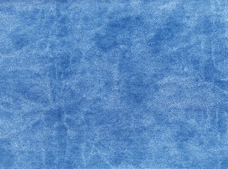 leatherette: Blue color artificial leather texture. abstract background and texture.