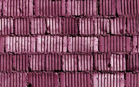 weathered: Pink toned grungy brick wall pattern. abstract background and texture for design. Stock Photo