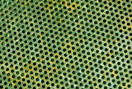 aluminium: Color metal grid floor pattern. abstract background and texture for design.