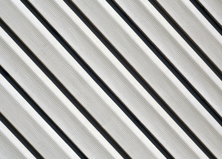 Gray color pvc siding wall. Abstract background and texture for design.