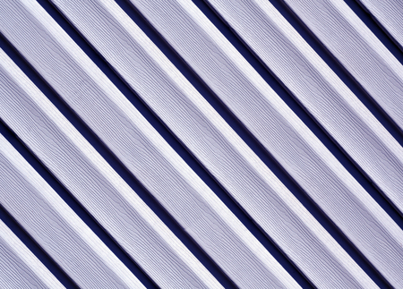 Blue color pvc siding wall. Abstract background and texture for design.