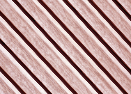 Red color pvc siding wall. Abstract background and texture for design.
