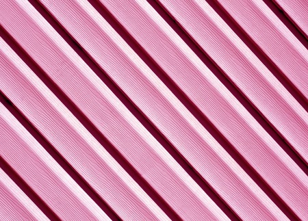 Pink color pvc siding wall. Abstract background and texture for design. Stock Photo